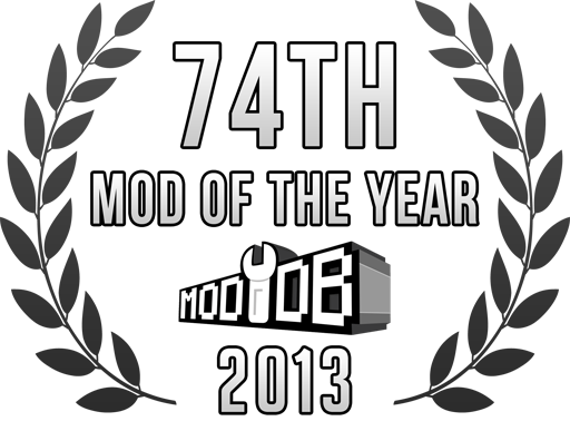 ModDB Rank #74 Badge